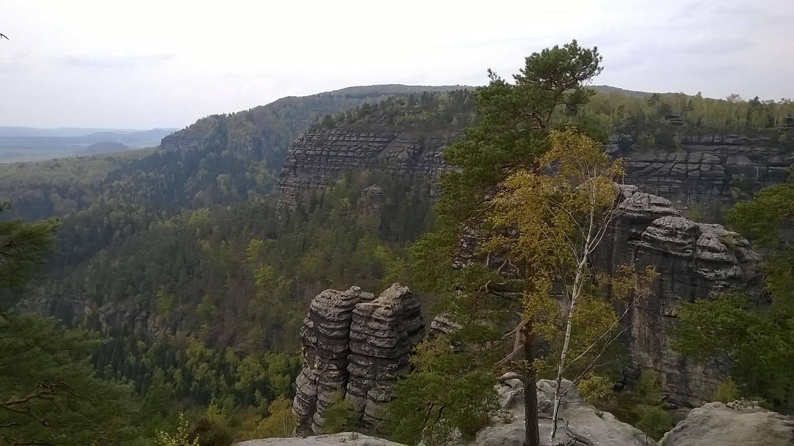 Pravcicka Brana view