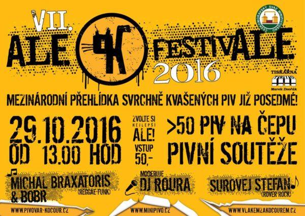 Ale Festivale 2016 poster