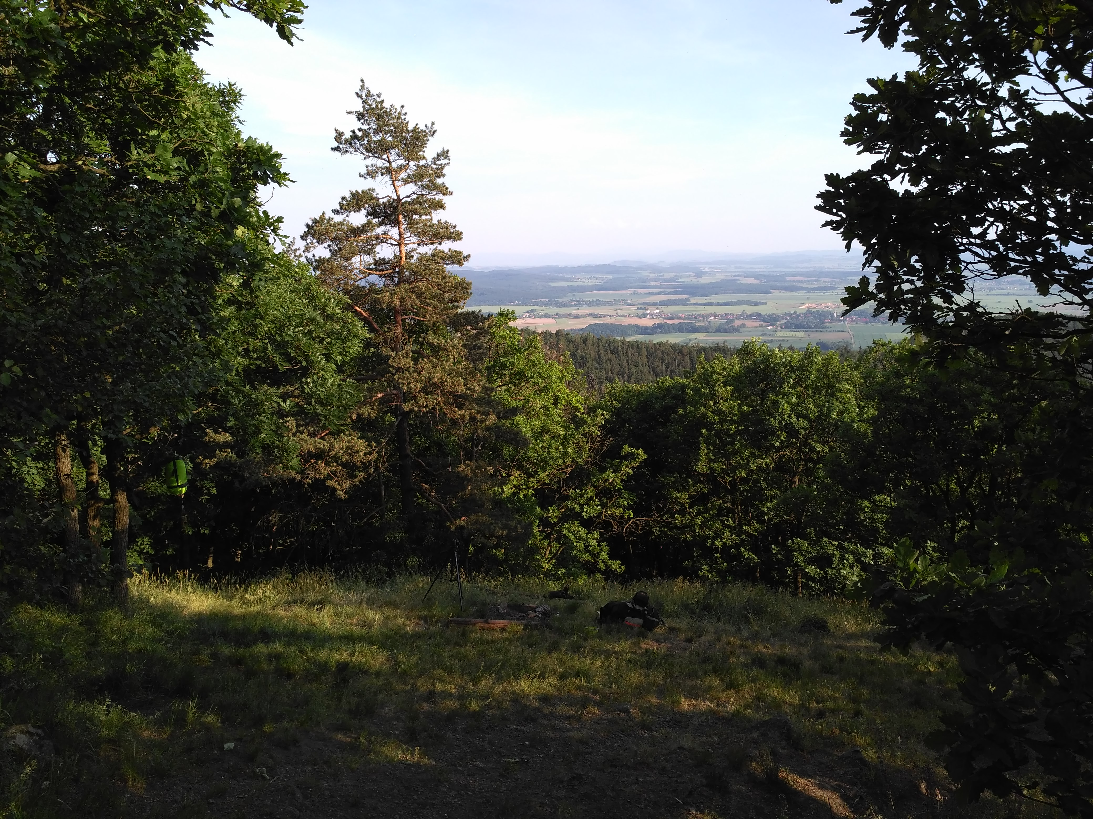 Panorama na miejscówkę i okolice