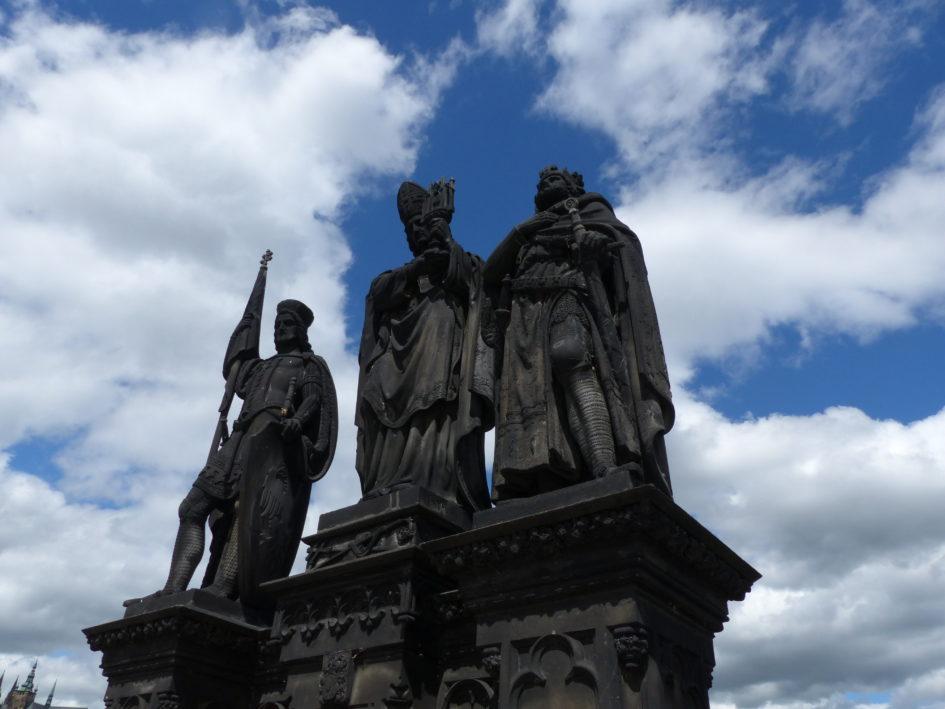 A na Moście Karola...