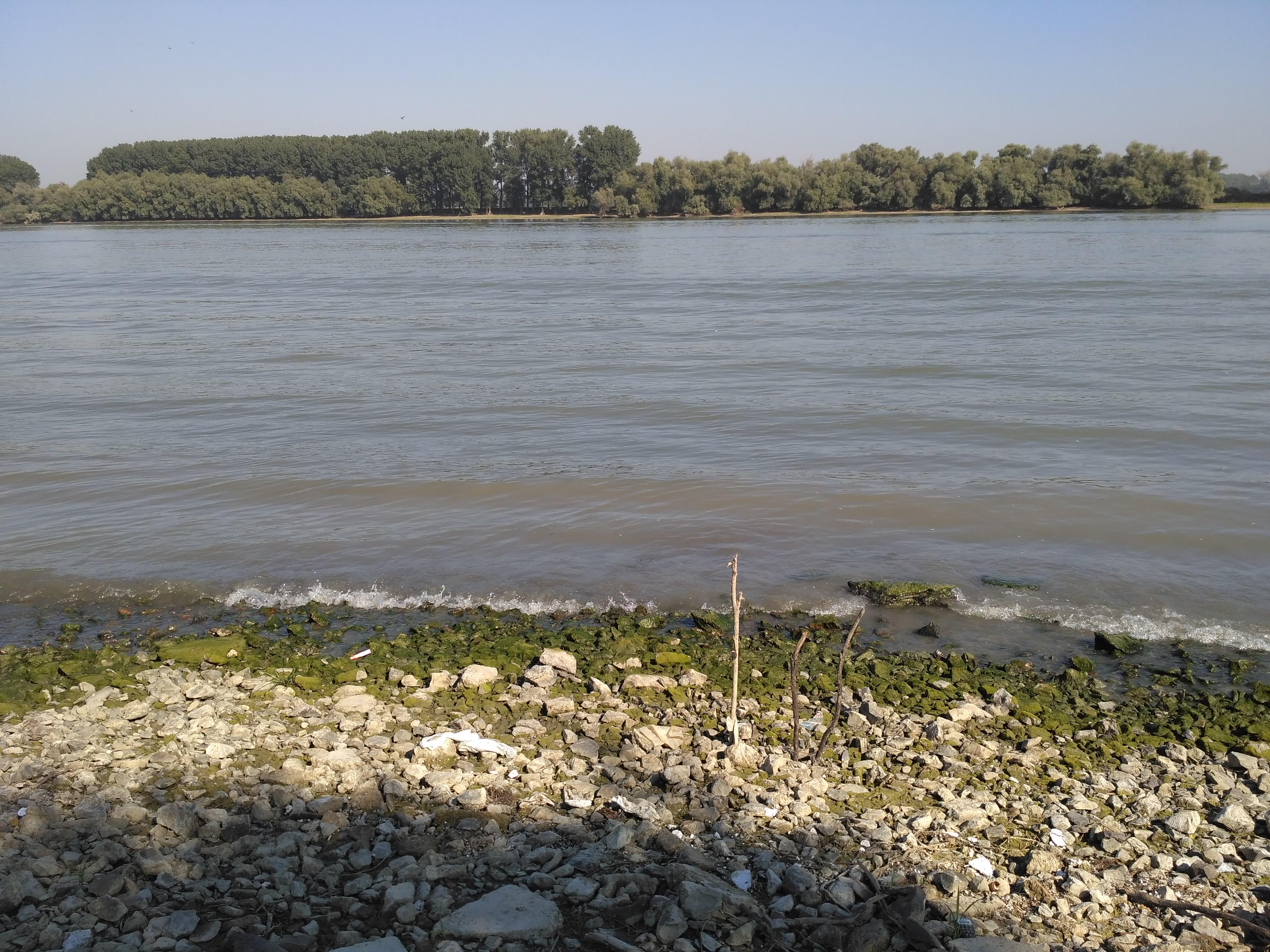 Dunaj o poranku.