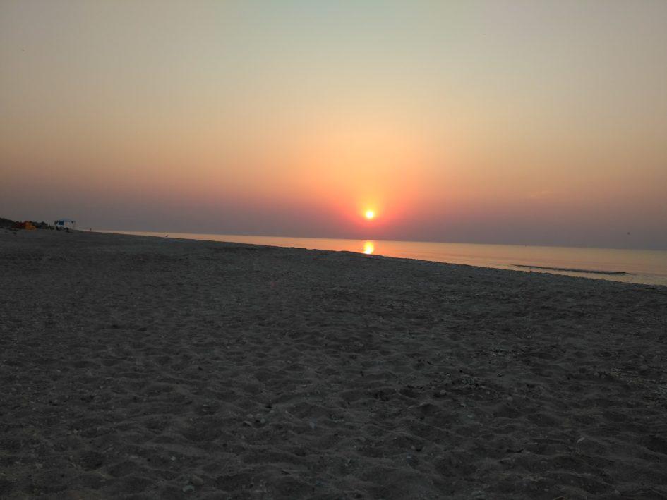 Vadu, wschód słońca