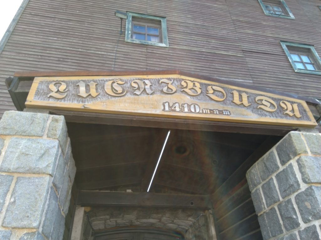 Lucni Bouda - tam serwują najlepsze piwko w Karkonoszach