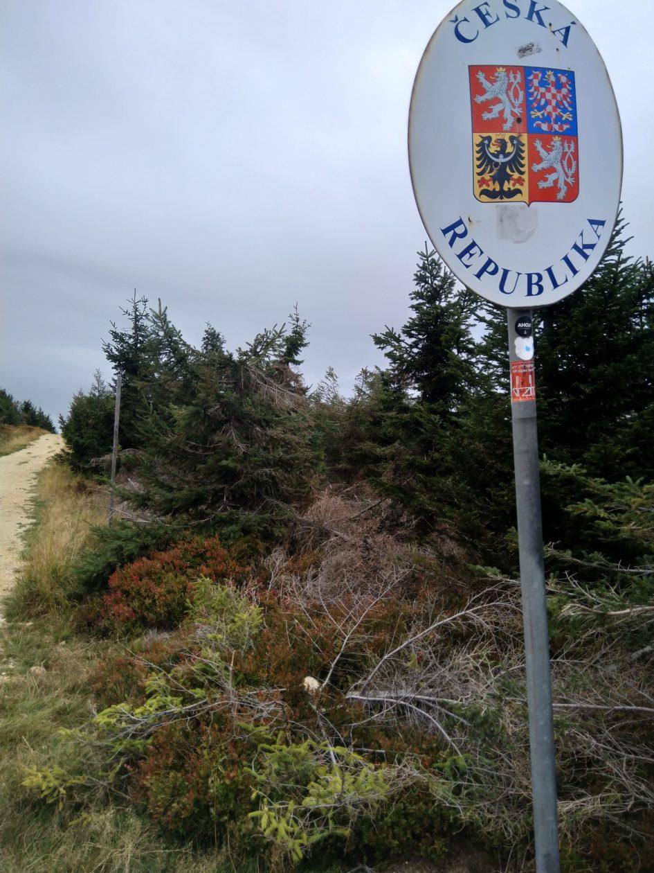 Taki był plan, żeby jak najwięcej spacerować po czeskiej stronie