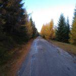 Jesienna aura tuż po wyjściu z Jakuszyc