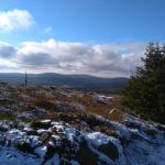 Rzut oka na Halę Izerską i czeską stronę gór