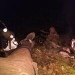 Wszyscy poszli spać i czas na piękny relaks w trzasku palonych gałązek