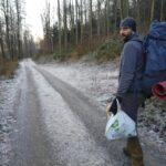 Śmieci z lasu zabrane